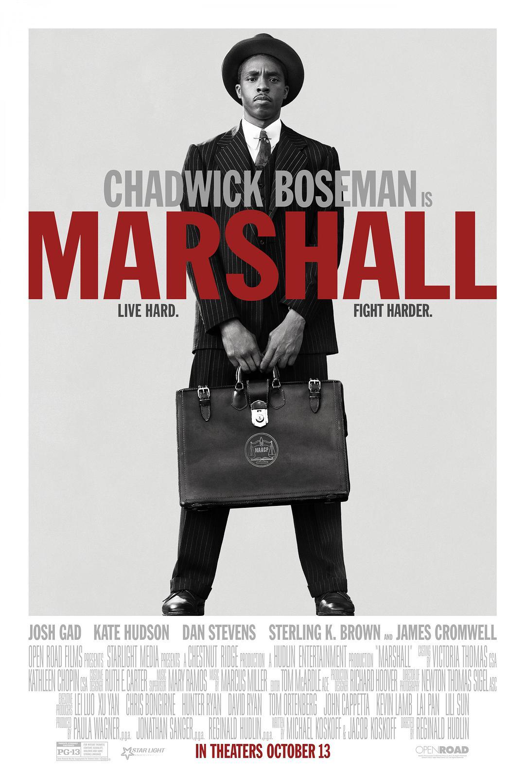 马歇尔 蓝光原盘下载+高清MKV版 2017 Marshall 33.6G