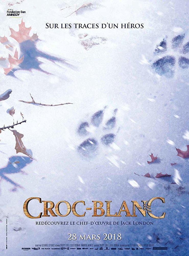白牙 蓝光原盘下载+高清MKV版/White Fang 2018 Croc-Blanc 18.9G